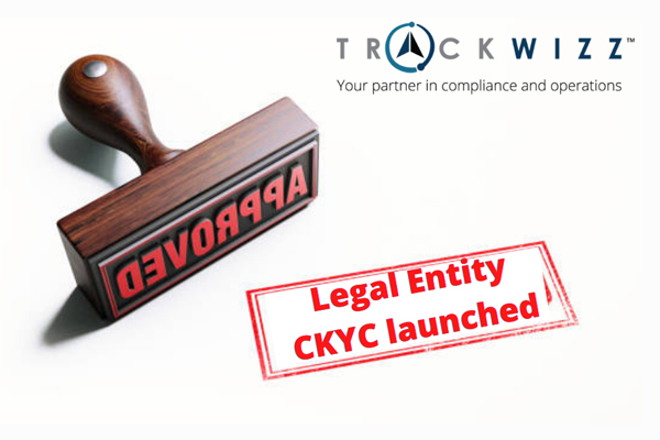 TrackWizz CKYC legal entity solution launched